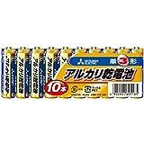 三菱電機 アルカリ乾電池(シュリンクパック) 単3形 10個入 LR6N/10S