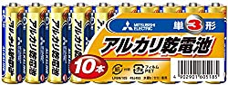 三菱電機 アルカリ乾電池(シュリンクパック) 単3形 10本パック LR6N 10S
