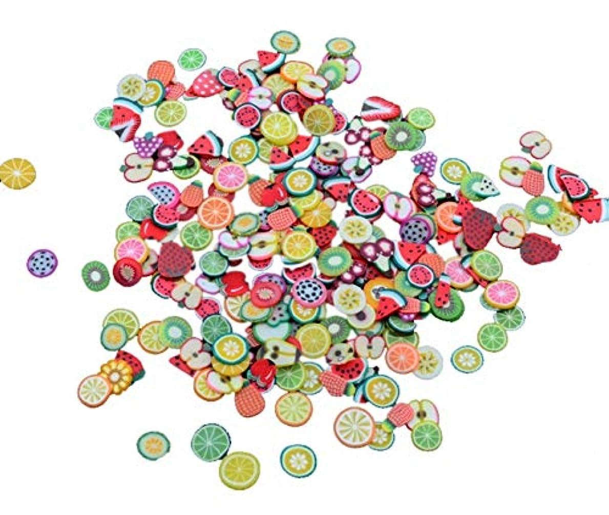 ミシン目けがをする貞Madalena ソフト陶磁器デザインネイルアートステッカーマニキュア美しいファッションアクセサリー装飾DIYモバイル美容パッチ千個 (Color : Fruit)