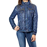 Desigual Luxury Fashion Womens 19WWED35BLUE Blue Down Jacket   Fall Winter 19