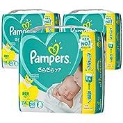 【ケース販売】 パンパース オムツ テープ さらさらケア 新生児 (~5kg) 342枚 (114枚...