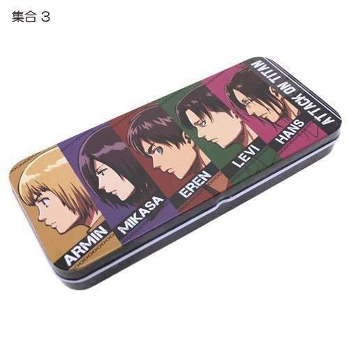 進撃の巨人[筆箱]缶ペンケース 3rd【集合3 】