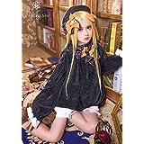 [milky time] ウィッグ付き Fate/Grand Order アビゲイル ウィリアムズ 風 衣装 ワンピース コスプレ 衣装 FGO フェイト (Mサイズ)