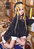 [milky time] ウィッグ付き★ Fate/Grand Order アビゲイル ウィリアムズ 風 衣装 ワンピース コスプレ 衣装 FGO フェイト (Lサイズ)