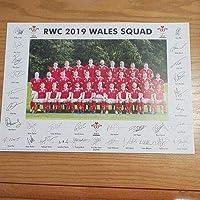 ラグビーワールドカップ2019年ウェールズ代表・全選手印刷サイン
