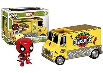 Marvel(マーベル) Deadpool (デッド・プール) POP VINYL ミニフィギュア + チミチャンガ・トラック [並行輸入品]