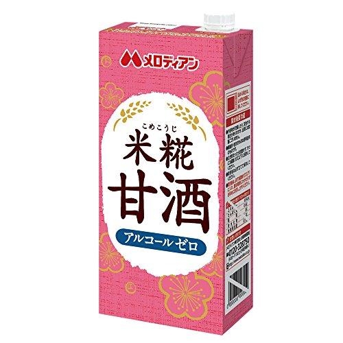 メロディアン 米糀甘酒(1000mL*6本入)