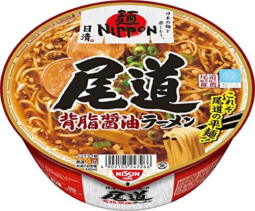 日清麺NIPPON尾道背脂醤油ラーメン121g×12個