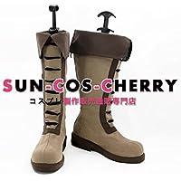 【サイズ選択可】コスプレ靴 ブーツ K-2098 機動戦士ガンダム 鉄血のオルフェンズ アトラ・ミクスタ 男性26CM
