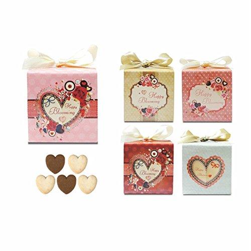 Happy Blooming Cube Love Festa 1個【プチギフト】【コスパ お返し クッキー ばらまき イベント ホワイトデー バレンタインデー】