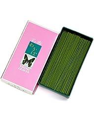 家庭用線香 わかば(箱寸法16×8.5×3.5cm)◆香木と調和した香水の香りのお線香(大発)