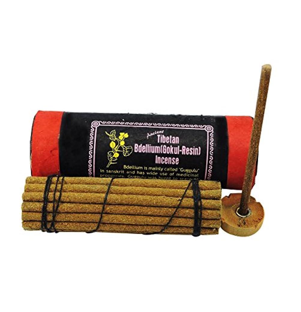 突っ込む直立めるAncient Tibetan Bdellium gokul-樹脂Incense