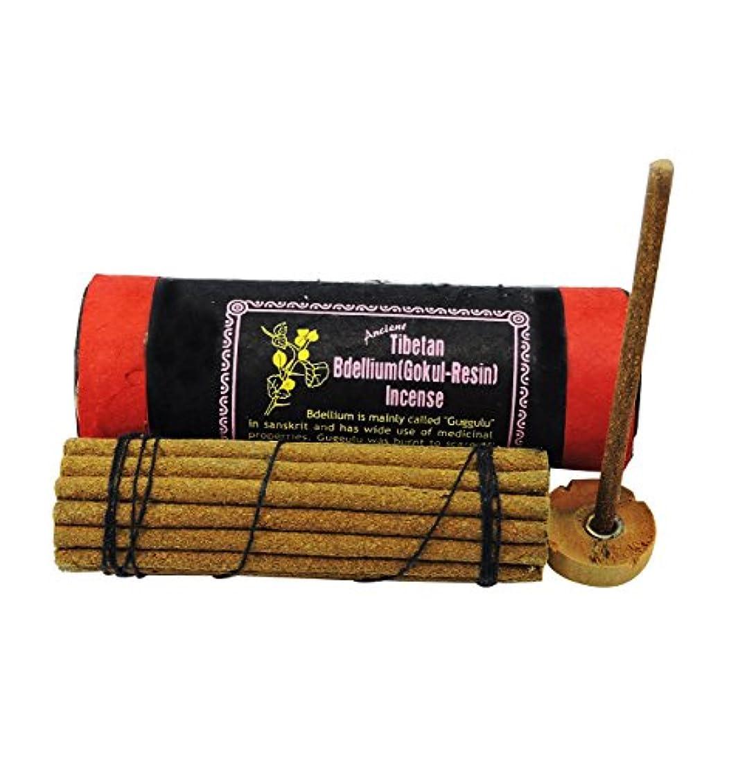 しかしながら平均しわAncient Tibetan Bdellium gokul-樹脂Incense