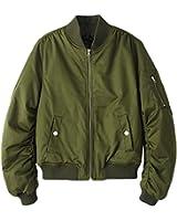 (アッシュランゲル)ASHERANGEL春の羽織り 秋冬のコート 注目ミリタリー系 MA-1レディースブルゾン ミリタリー ジャケット 3color
