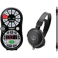 【audio-technicaヘッドホン+接続ケーブル付】Roland/ローランド VT-12-BK Vocal Trainer/ボーカル・トレーナー VT-12