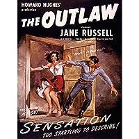 ADVERTISING MOVIE FILM OUTLAW JANE RUSSELL HOWARD HUGHES 30X40 CMS FINE ART PRINT ART POSTER 広告映画膜戦争アートプリントポスター