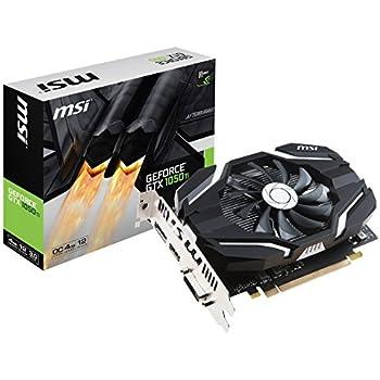 MSI GeForce GTX 1050 Ti 4G OCV1/SP グラフィックスボード VD6513