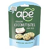 APE Ape Coconut Bites Chia 30g - (Ape) ココナッツは、嘉30グラムを噛みます [並行輸入品]