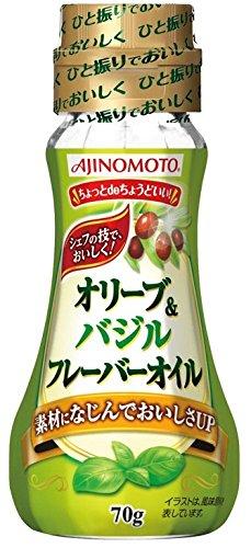 味の素 オリーブ&バジルフレーバーオイル 70g