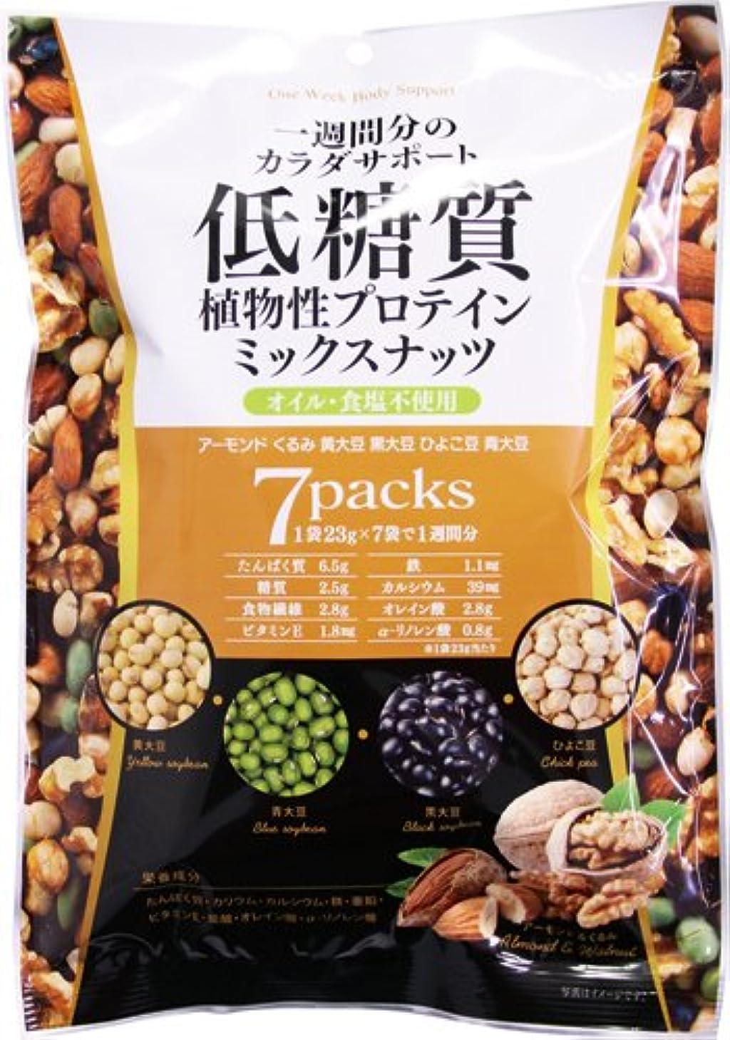 したい満足できる海賊低糖質ミックスナッツ 23g×7袋