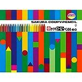 サクラクレパス クーピーペンシル 60色 FY60