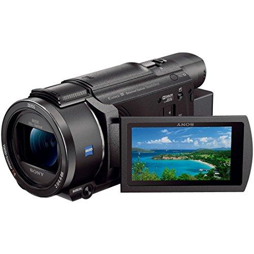 ソニー SONY ビデオカメラ FDR-AX60 4K 64GB 光学20倍 ブラック Handycam FDR-AX60 B