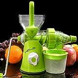 ミニ絞りジューサー手作り果物野菜オレンジスイカニンジンジュース手クランクリーマホーム使用グリーン
