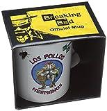 ブレイキングバッド1ピースセラミックロサンゼルスPollos Hermanosのマグカップ Breaking Bad 1-Piece Ceramic Los Pollos Hermanos Mug