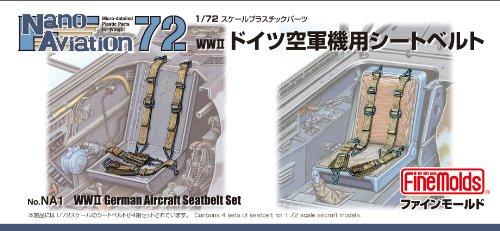 ファインモールド  ナノ アヴィエーション  1/72 WWII ドイツ空軍機用シートベルト NA1