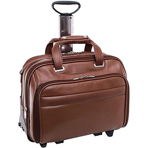 (マックレーンユーエスエー) McKlein USA メンズ バッグ キャリーバッグ R Series Midway 15.6' Leather Wheeled Laptop Case 並行輸入品