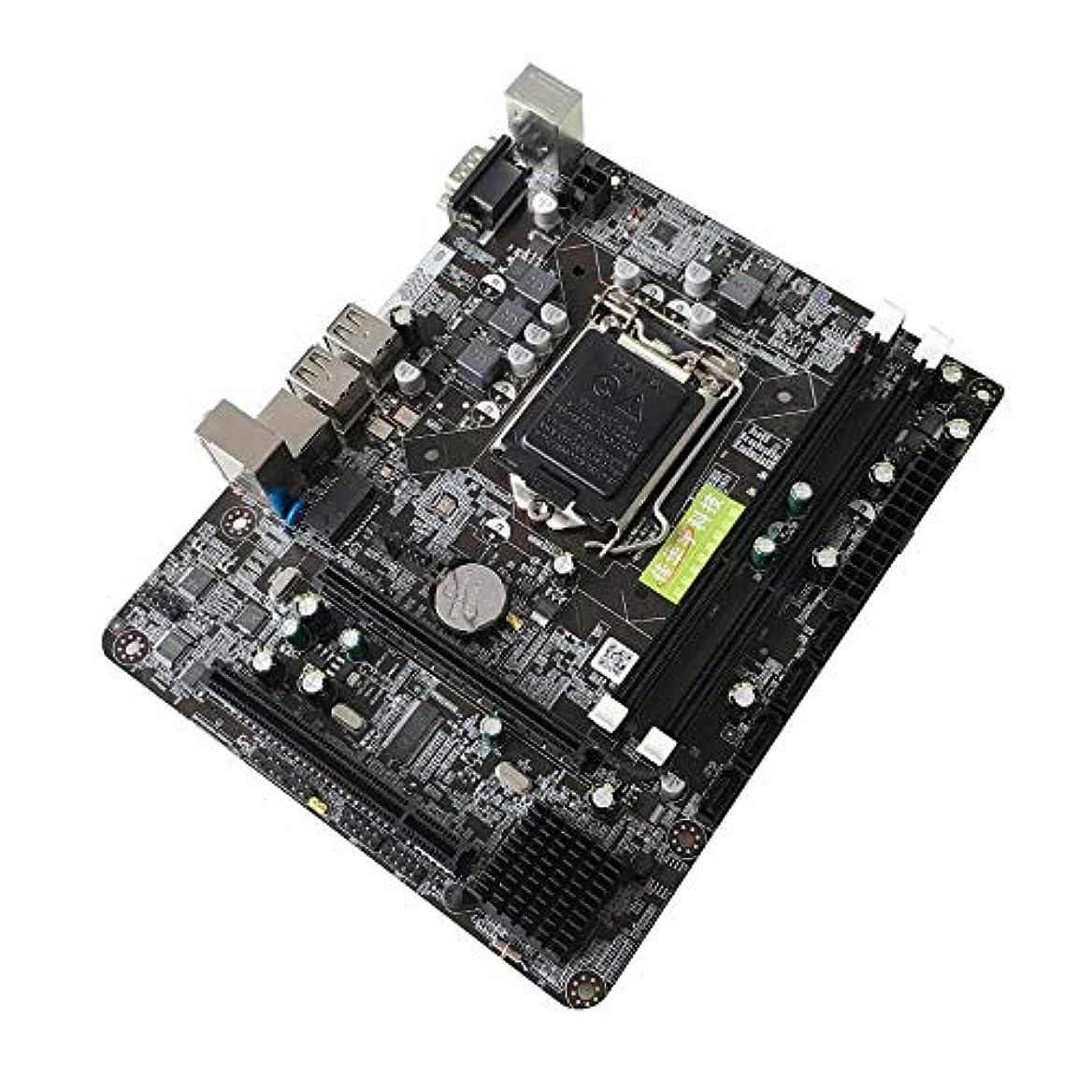 傷つける連隊鎮痛剤Libertroy 6チャンネルメインボードP55-A-1156マザーボード高性能デスクトップコンピュータメインボードCPUインターフェースLGA 1156