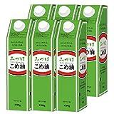 みづほ こめ油 1500g×6本 米糠から生まれた植物油 三和油脂