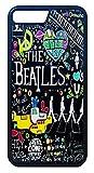 【The Beatles】ザ・ビートルズ タイトルイラスト iPhone7Plus/ iPhone8Plus ハードカバー [並行輸入品]
