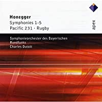 Honegger: Symphonies 1-5 / Pacific 231 / Rugby