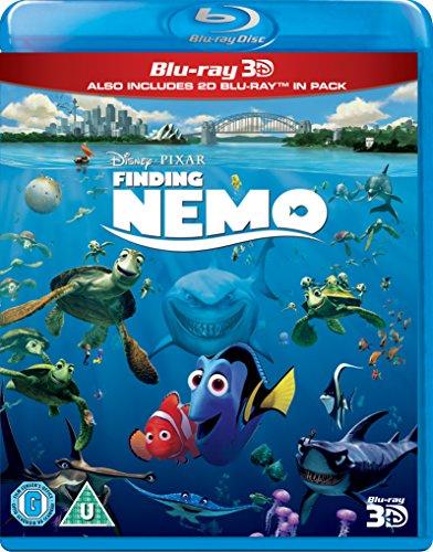 Finding Nemo [Blu-ray 3D + Blu-ray] [Import]