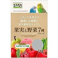 果実と野菜7種ブレンド セキセイインコ用