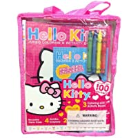 Hello Kitty Deluxe Giftケース3 Coloring and Activity Books 4ジャンボクレヨン2 Full色Posters by Bendon
