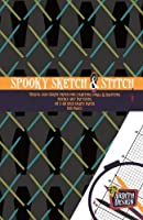 Spooky Sketch & Stitch: Travel Size Graph Paper for Charting Small & Haunting Needle Art Patterns, 40 x 60 Grid Graph Paper, 160 Pages
