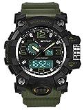 腕時計 メンズ 人気ブランド ファション ミリタリー軍事 人気 アウトドア スポーツ 防水 多機能 ビッグフェース
