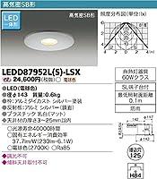 東芝ライテック 軒下用センサー付ダウンライト LEDD87952L(S)-LSX