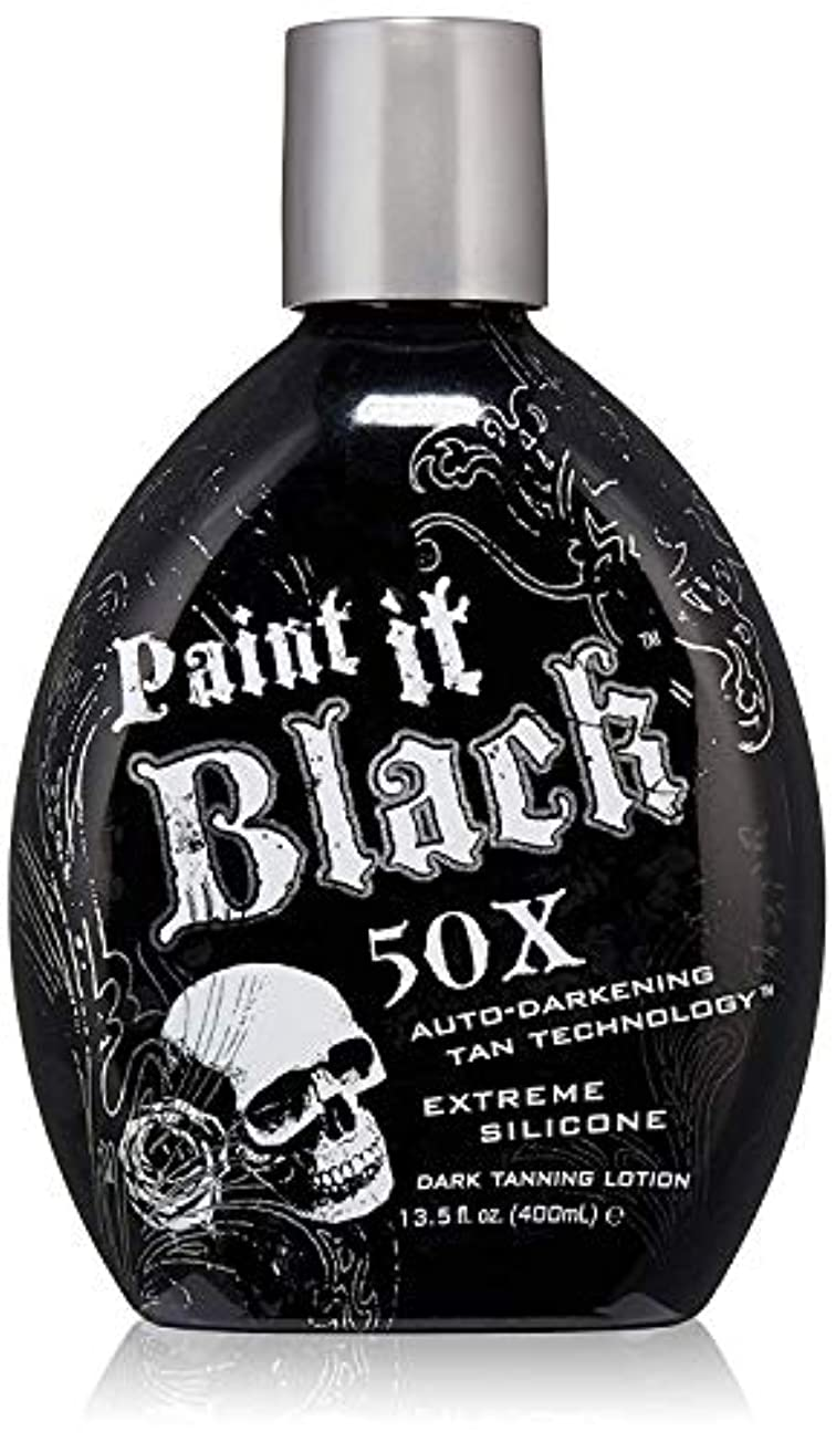 流体識別翻訳するPaint it Black Dark Tanning Lotion 13.5