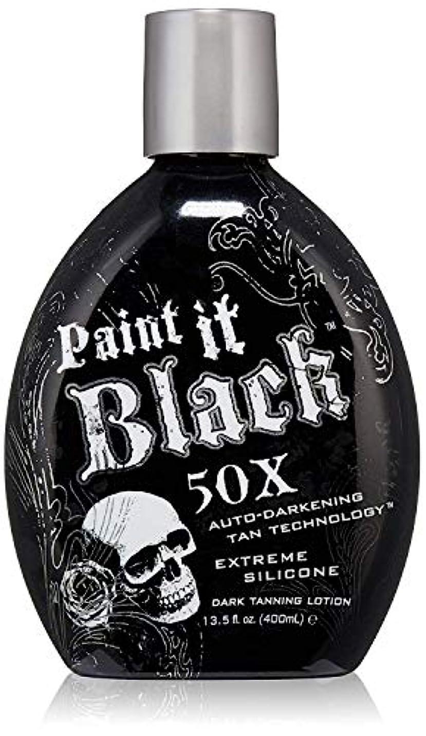 生命体稼ぐ実際Paint it Black Dark Tanning Lotion 13.5