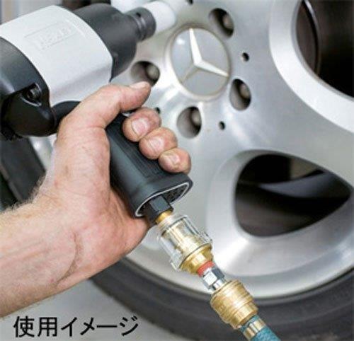 エアーツール長持ちするための自動給油装置 ミニオイラー WHSTD0009 [並行輸入品]