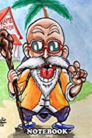 """Notebook: Roshi , Journal for Writing, College Ruled Size 6"""" x 9"""", 110 Pages"""