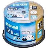 日立マクセル 録画用ブルーレイディスク BD-R 130分 (1~4倍速対応) インクジェットプリンター対 BR25VFWPB.50SP 1