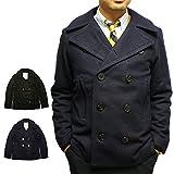 (デニム&サプライ ラルフローレン) Denim&Supply Ralph Lauren 《クラシック ウール Pコート:Classic Pea Coat》 (Mサイズ, 02.ネイビー) [並行輸入品]
