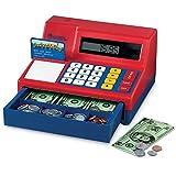ラーニングリソース キャッシュレジスター 電卓式レジ 米ドル付き Learning Resources
