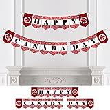 Bigドットの幸せのカスタマイズカナダ日 – カスタムカナダホオジロバナー&デコレーション – カナダ日カスタムバナー