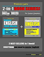 Preston Lee's 2-in-1 Book Series! Beginner English 1000 Words & Conversation English Lesson 1 – 60 For Italian Speakers