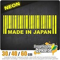 Made in Japan - 3つのサイズで利用できます 15色 - ネオン+クロム! ステッカービニールオートバイ